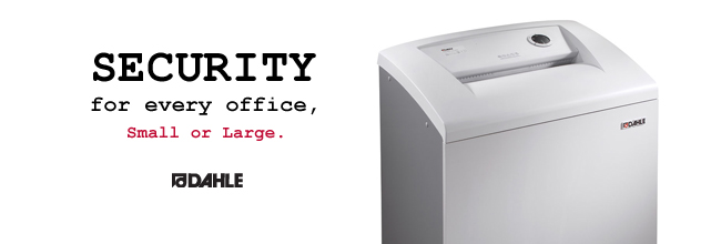 Security for every office, small or large.